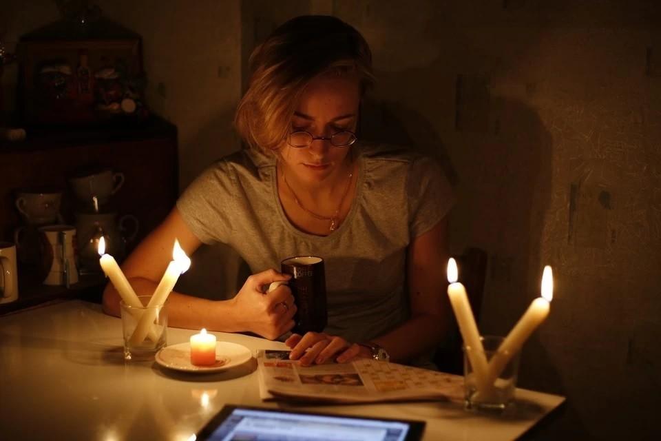 Без света остались 25 тысяч человек