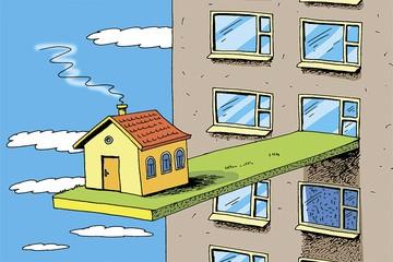 Стоит ли покупать квартиры в небоскребах