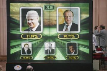 Для победы Ельцина в 1996-м народ пугали дефицитом и талонами «на жизнь»