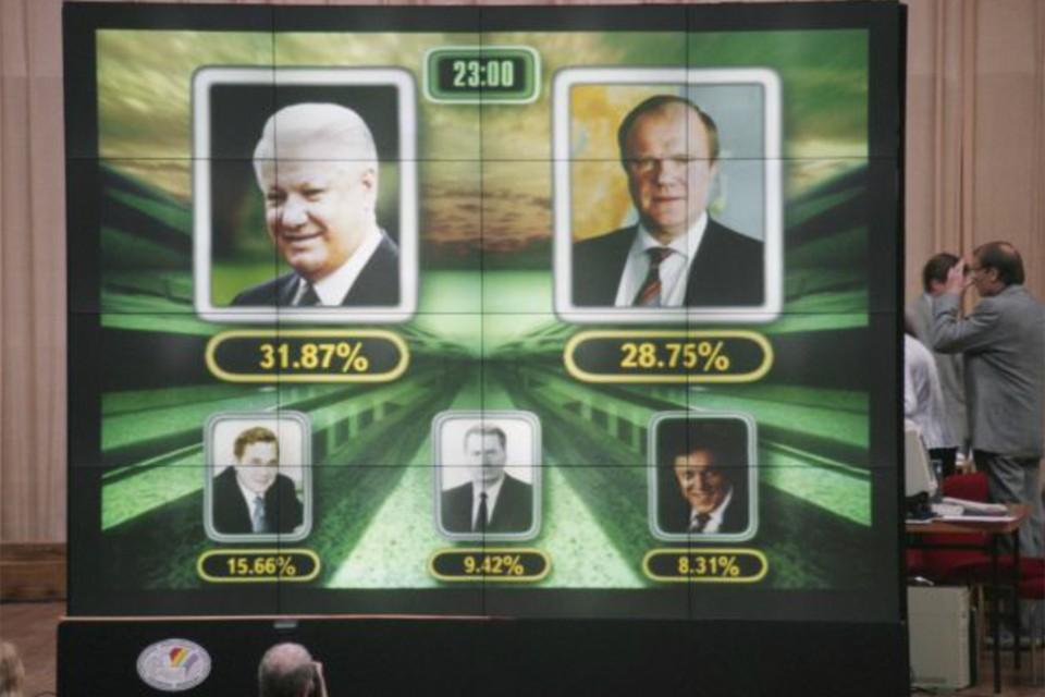 За подсчетом голосов все следили в прямом эфире. Никто не был уверен в победе своего кандидата. Фото: Борис КАВАШКИН/ТАСС