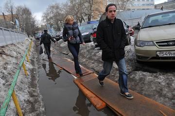 В Москву и Центральную Россию идёт аномальная оттепель