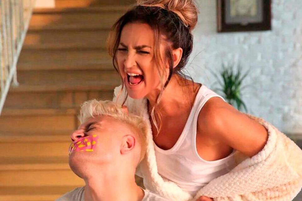 Давид и Ольга познакомились в 2019 году на съемках клипа на песню Бузовой «Лайкер»