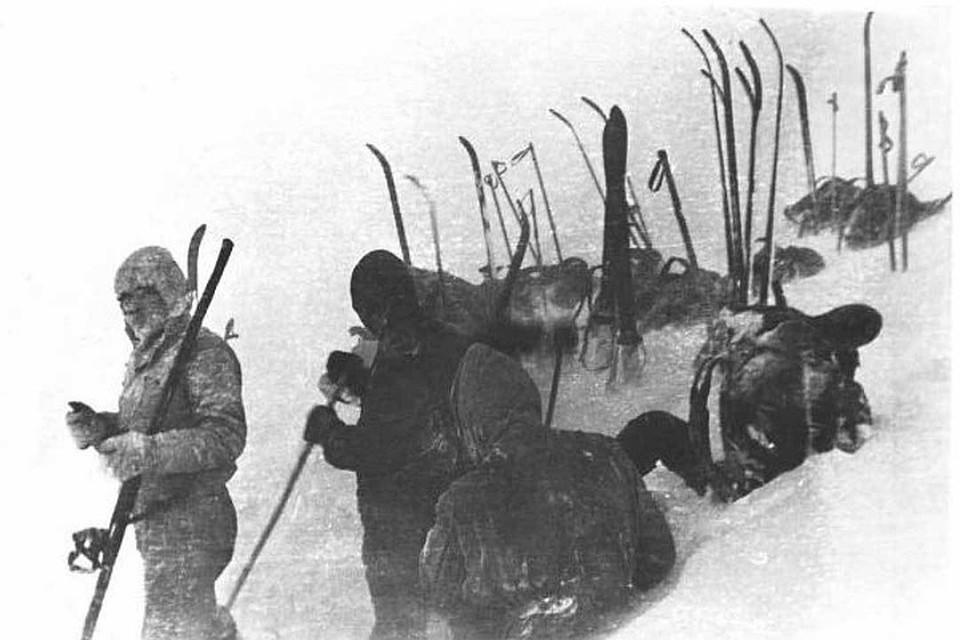 Зимой 1959 года в горах Северного Урала пропали девять туристов
