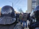 В центре Челябинска из-за несогласованной акции перекрыли движение транспорта