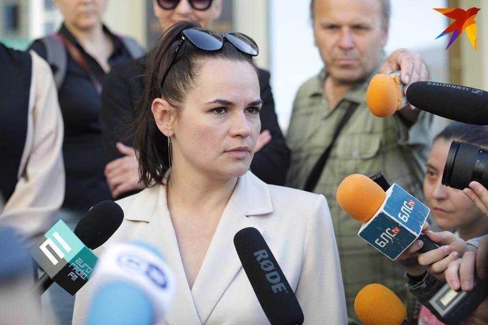 Европейские политики выдвигают Тихановскую на соискание Нобелевской премии мира 2021 года.