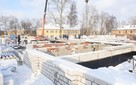 Работы на крупнейшем детском саду Вологды ведутся по графику