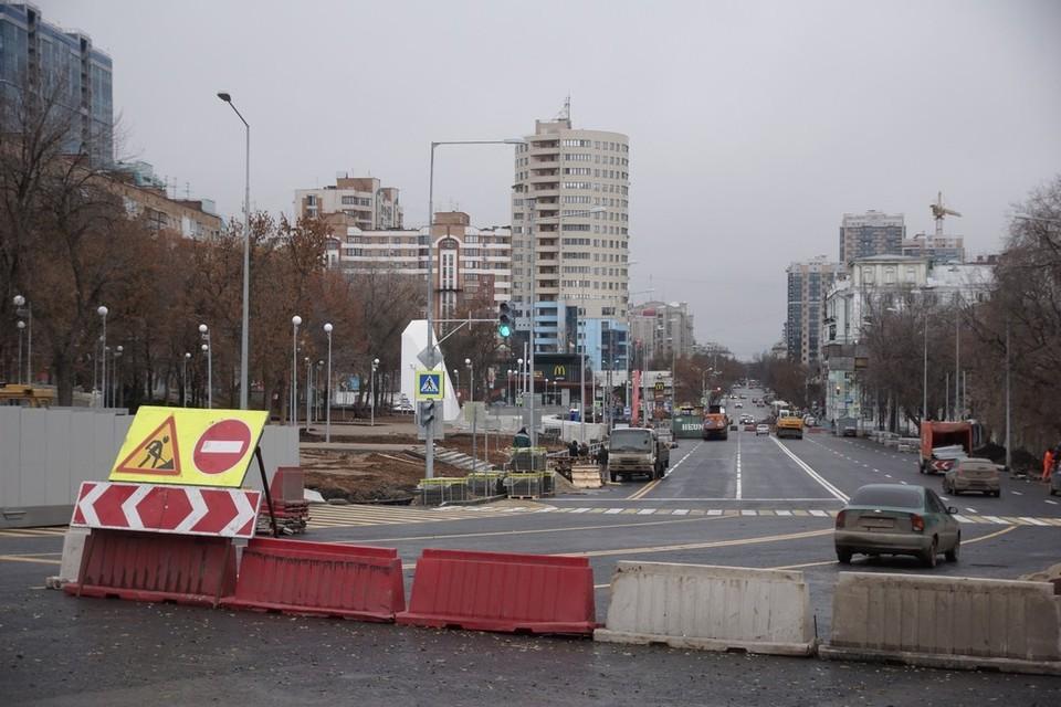 В Самаре стартовала масштабная реконструкция Ново-Садовой