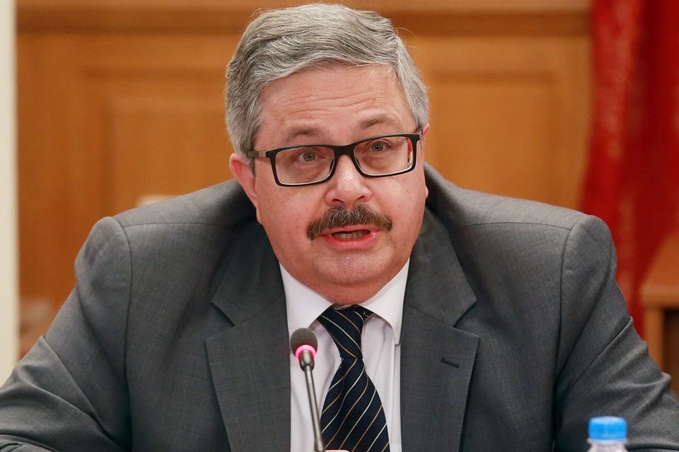 Посол России в Турции Алексей Ерхов. Фото: Сергей Фадеичев/ТАСС