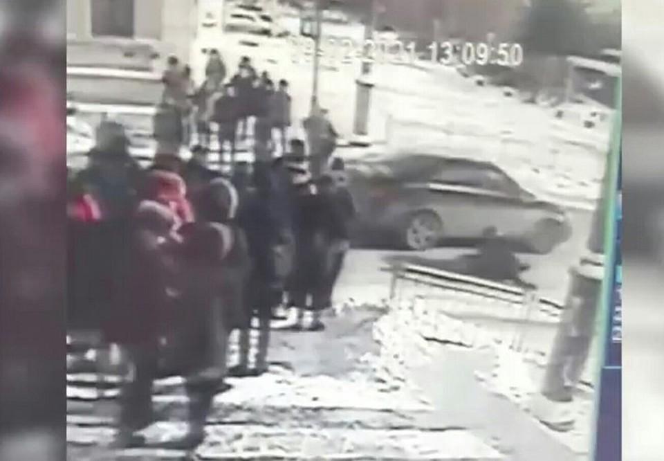 Водителя иномарки уже установили. Фото: УМВД России по Омской области