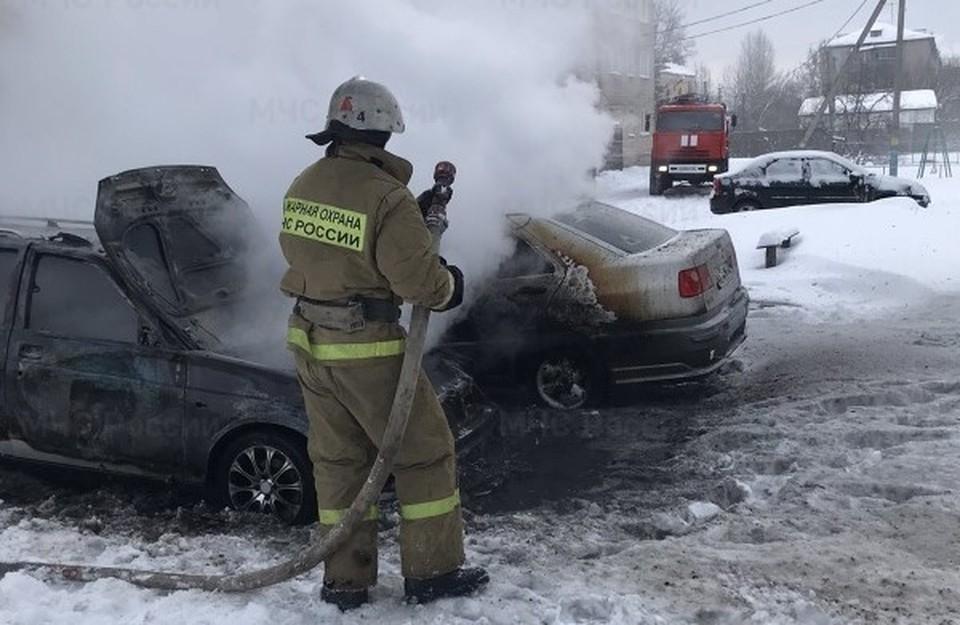 Пожар произошел в среду, 10 февраля, утром