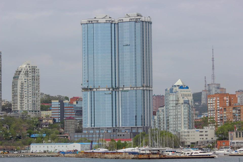 Первый небоскреб во Владивостоке
