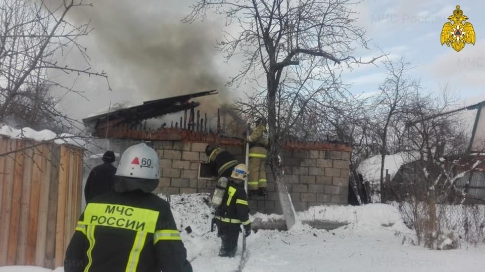 На место ЧП был направлен инспектор пожарного надзора