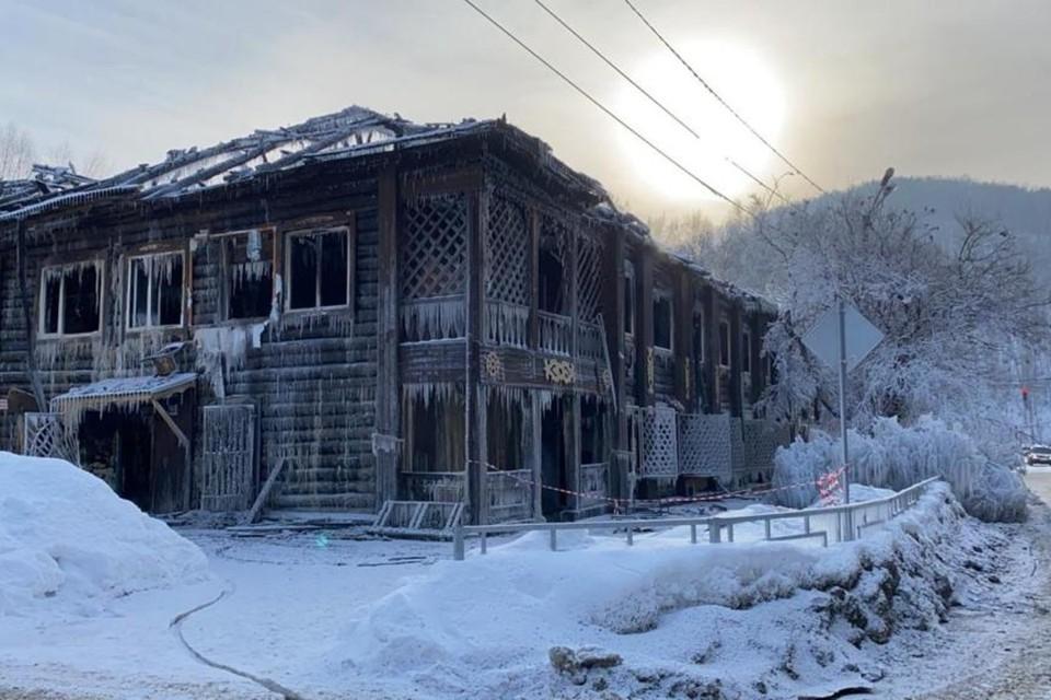 Следователи назначили судебную пожаро-техническую экспертизу. Фото: пресс-служба СУ СК по Республике Алтай
