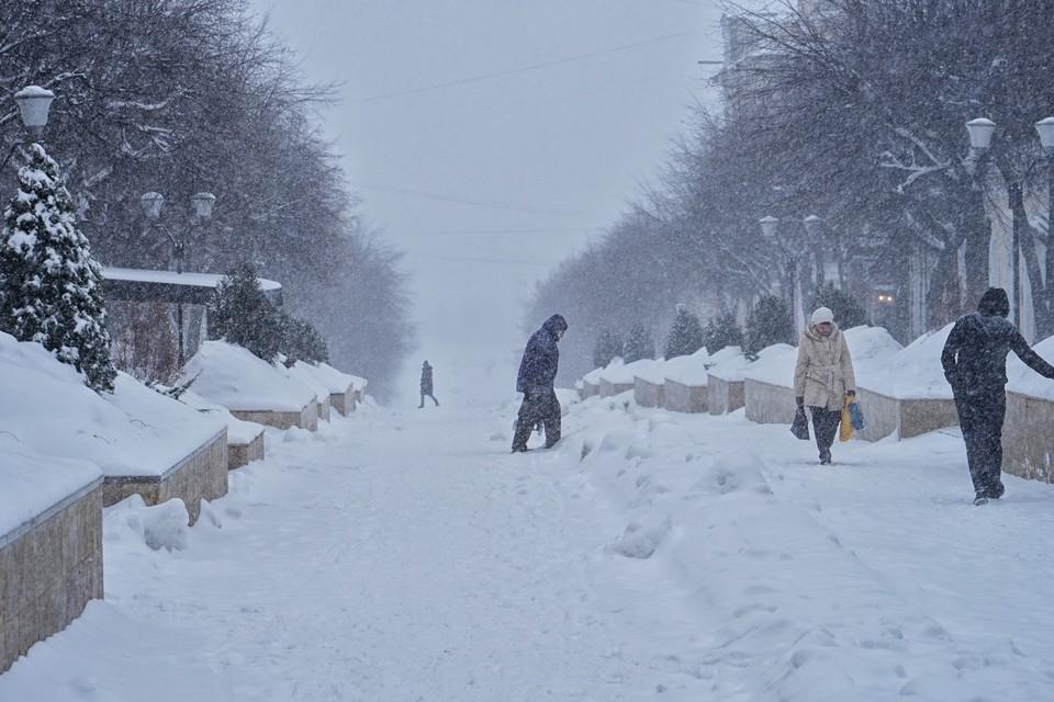 Орел опять накроет снегопад