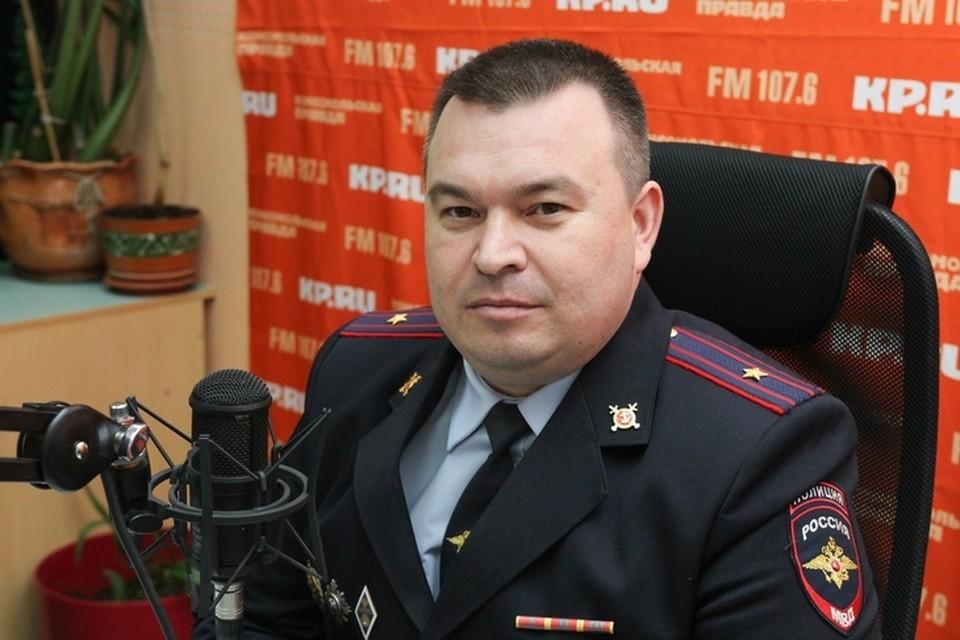 Руслан Набиев, начальник Управления ГИБДД МВД по Удмуртии