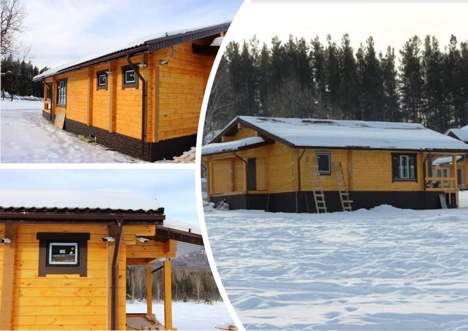 На кордоне уже построили три здания. Фото: пресс-служба минэкологии Челябинской области.
