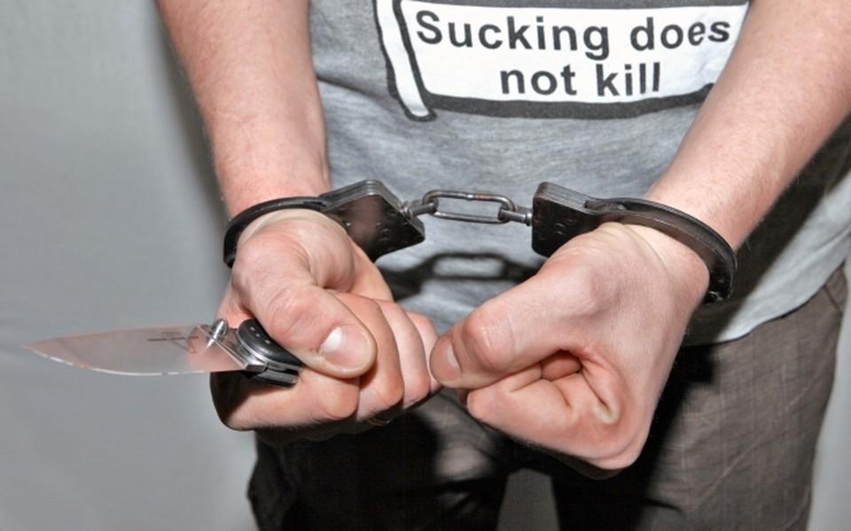 Несостоявшегося грабителя задержала полиция.