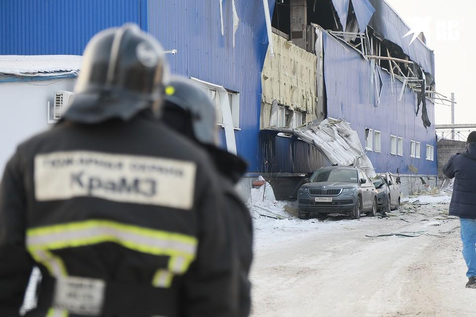 Пожар прогремел на складе ГСМ.