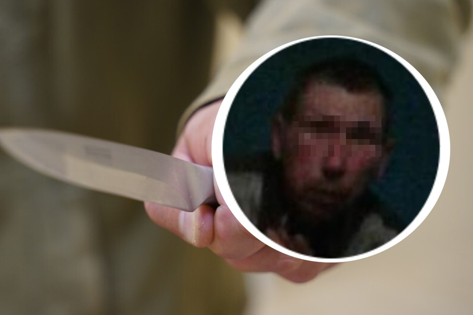Подозреваемый порезал семью на глазах первоклассника. Фото: Светлана Маковеева // личный архив