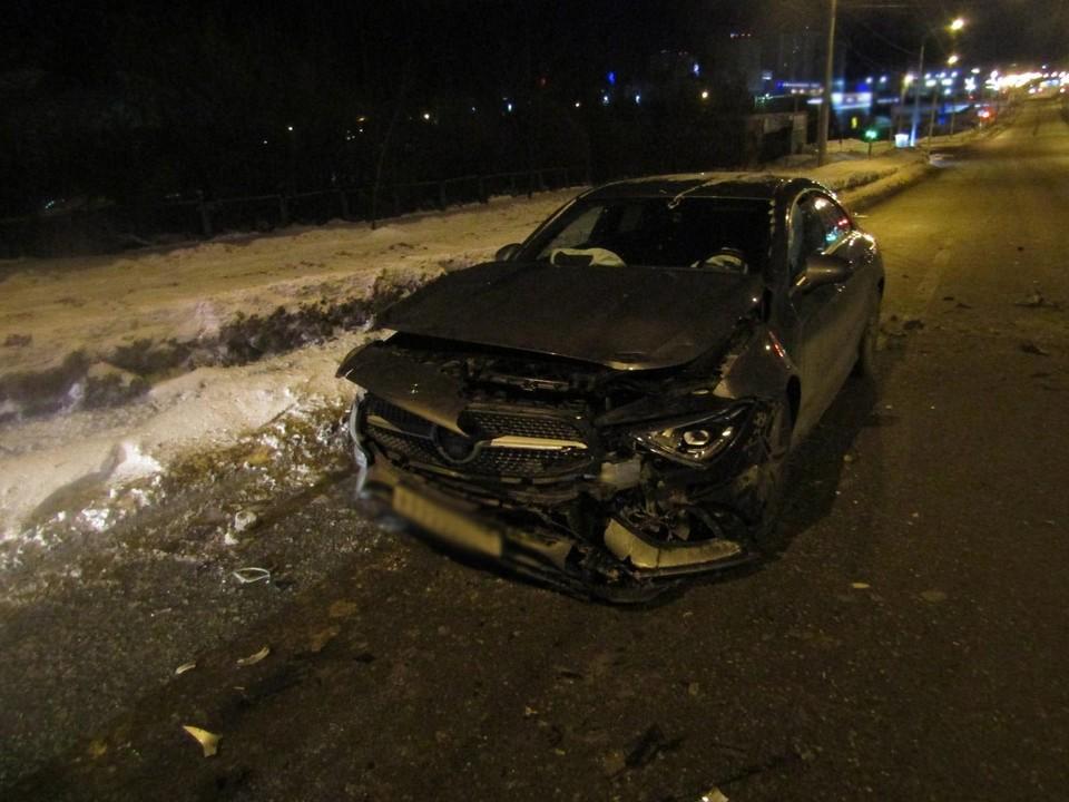Пьяный водитель устроил массовое ДТП на улице Труда в Ижевске