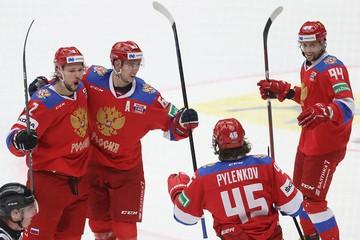 Сборная России выиграла Шведские хоккейные игры