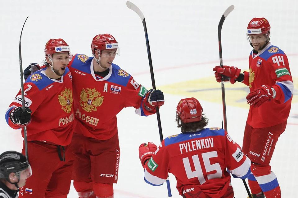 Команда Игоря Ларионова победила чехов со счетом 7:4