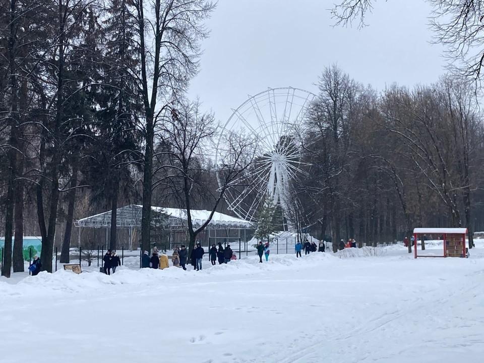 27-метровое колесо обозрения появится в Ижевске