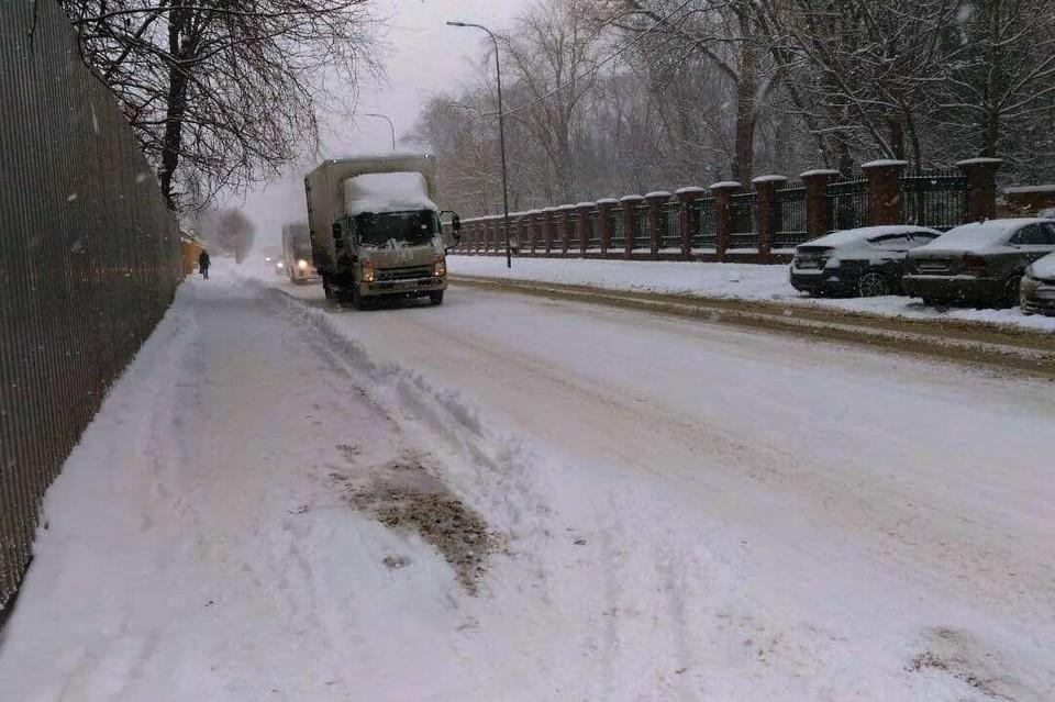 Такого снегопада в Краснодаре не было давно.