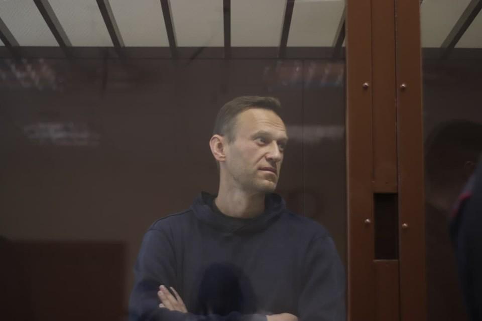 Алексея Навального обвиняют в оскорблении ветерана ВОВ. Фото: протокольная съёмка Мосгорсуда