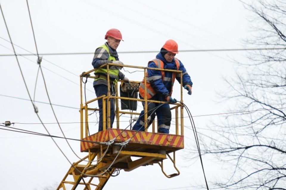 Причина отключения электроснабжения выясняется.