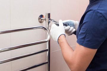 Как подключить полотенцесушитель своими руками