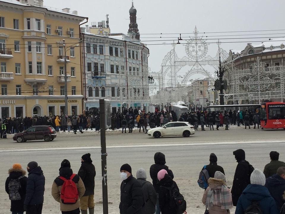Власти считают, что при согласовании митингов нужно сообщать также о форматах и методах организации санитарного обслуживания.