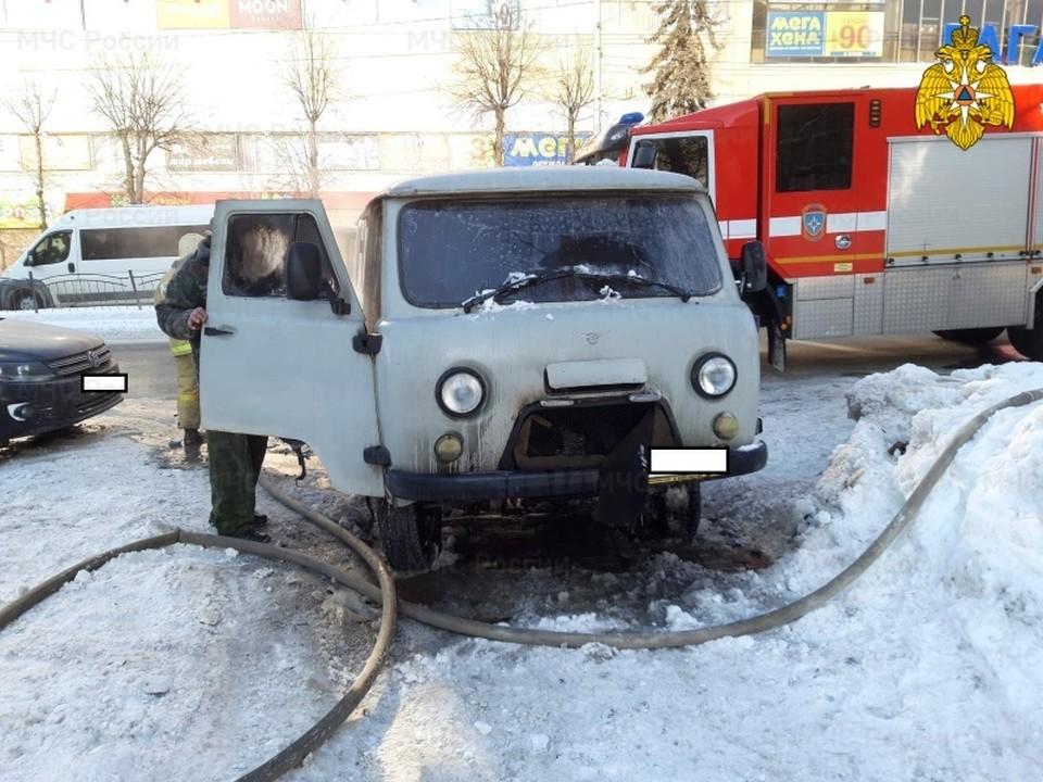 На место происшествия был направлен инспектор пожарного надзора