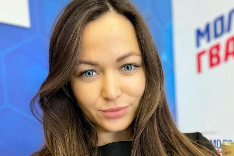 """Организатор """"Горячего женского марша"""", активистка «Молодой Гвардии» Юлия Перегудова. Фото: Инстаграм."""