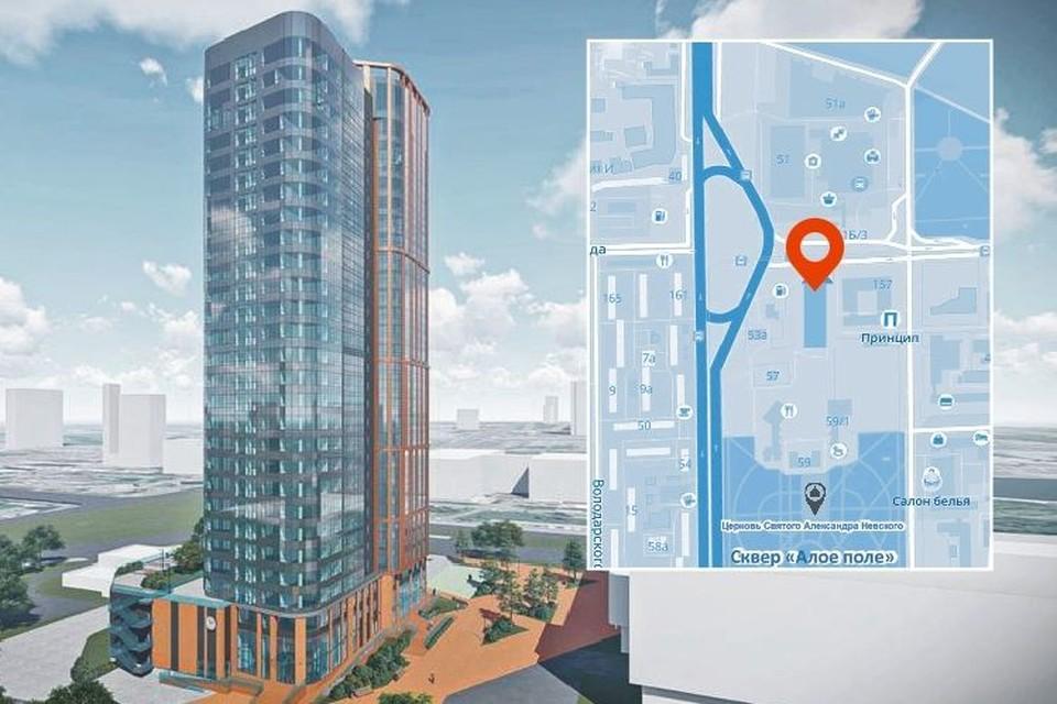 По первоначальному проекту планировалось 24 этажа. Фото предоставлено ГП «Компаньон»