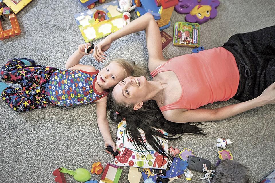 Дети получили родителей всецело - пришлось адаптироваться друг к другу.