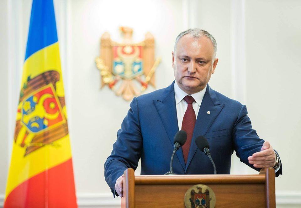 Игорь Додон обличил двойные стандарты западных партнеров Молдовы (Фото: aif.md).