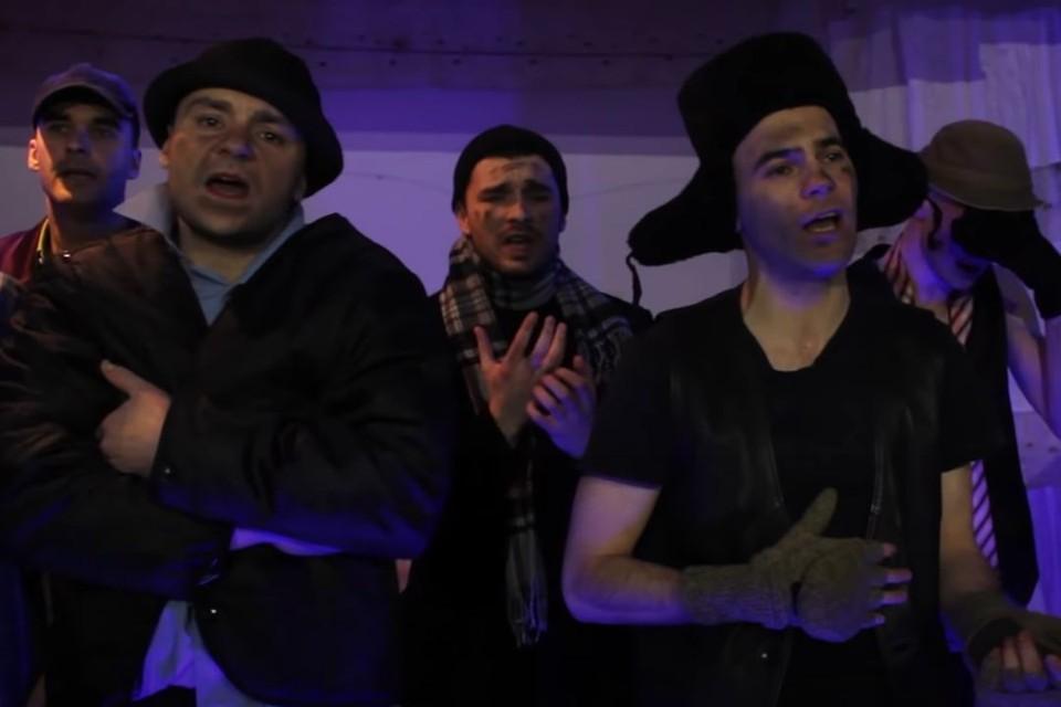 Новосибирские осужденные спели трогательную песню. Фото: ГУФСИН России по Новосибирской области.