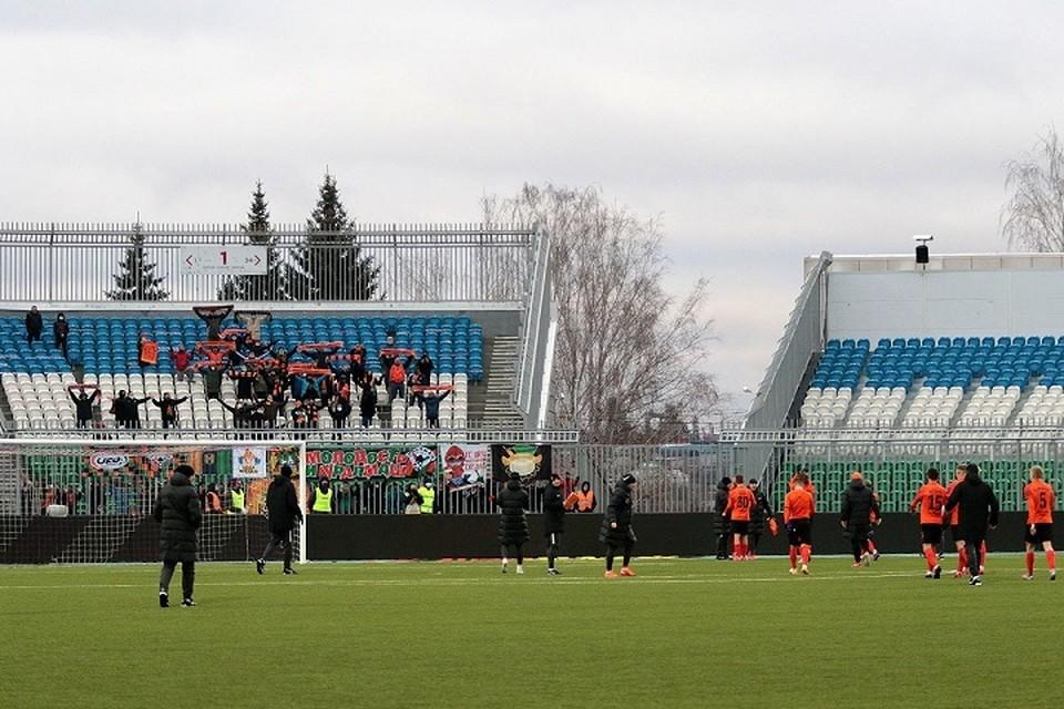Матч должен пройти на стадионе «Нефтяник». Фото: пресс-служба ФК «Урал»