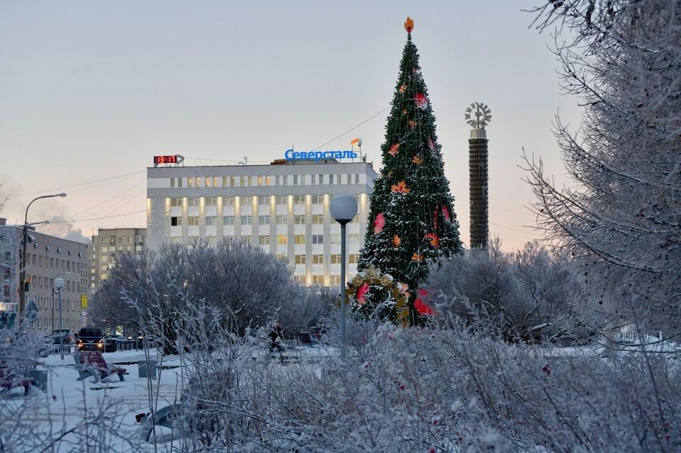В Оленегорске жалоб на снег на улицах почти нет.
