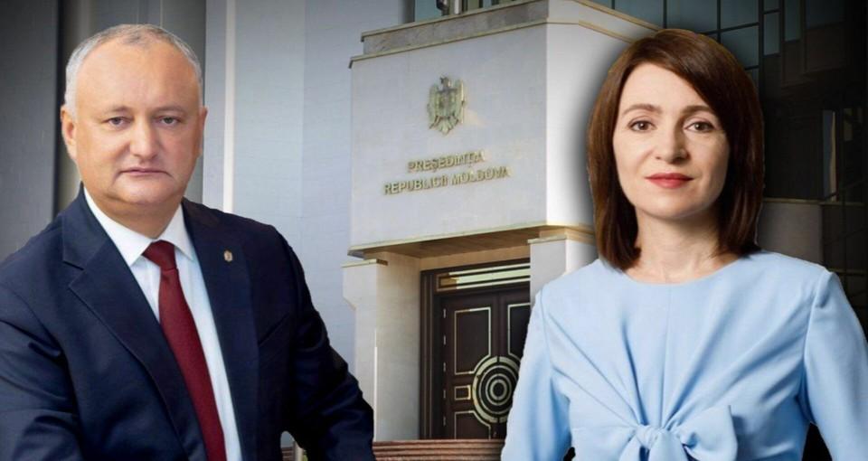 Больше всех граждане Молдовы доверяют Майе Санду и Игорю Додону. Фото:соцсети