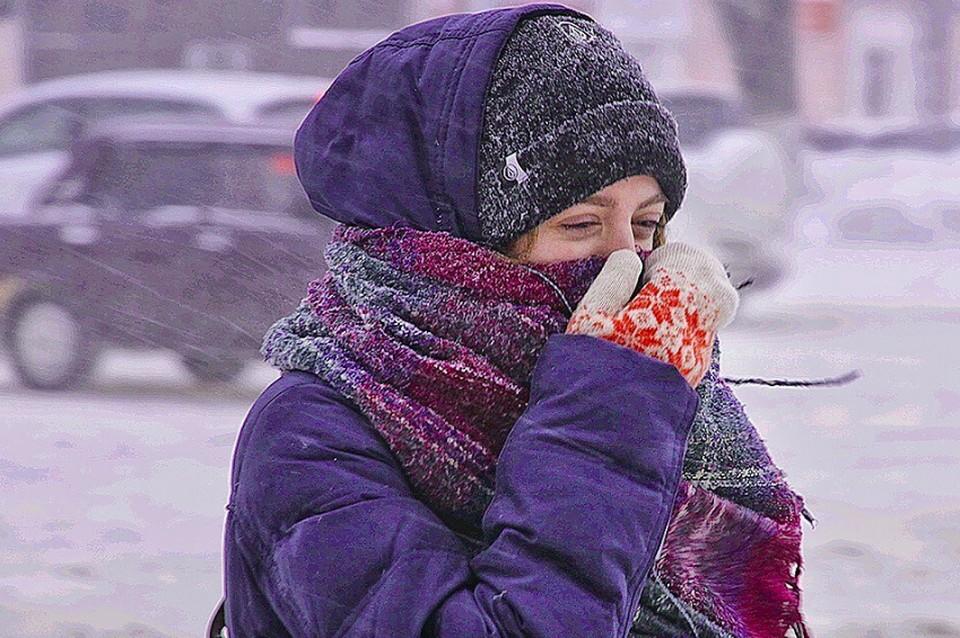 Аномальные морозы до -40 пришли в Нижегородскую область ночью и утром 23 февраля