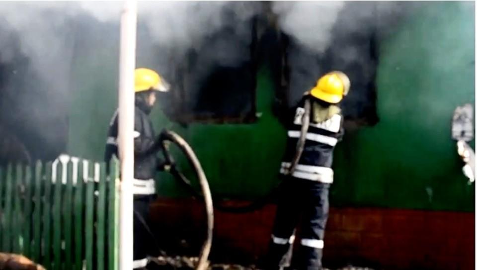 В пожаре погиб двухлетний малыш (Фото: desсhide.md).