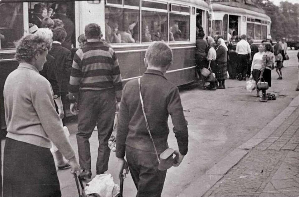 На протяжении десятилетий в Калининграде трамвай был главным видом общественного транспорта.