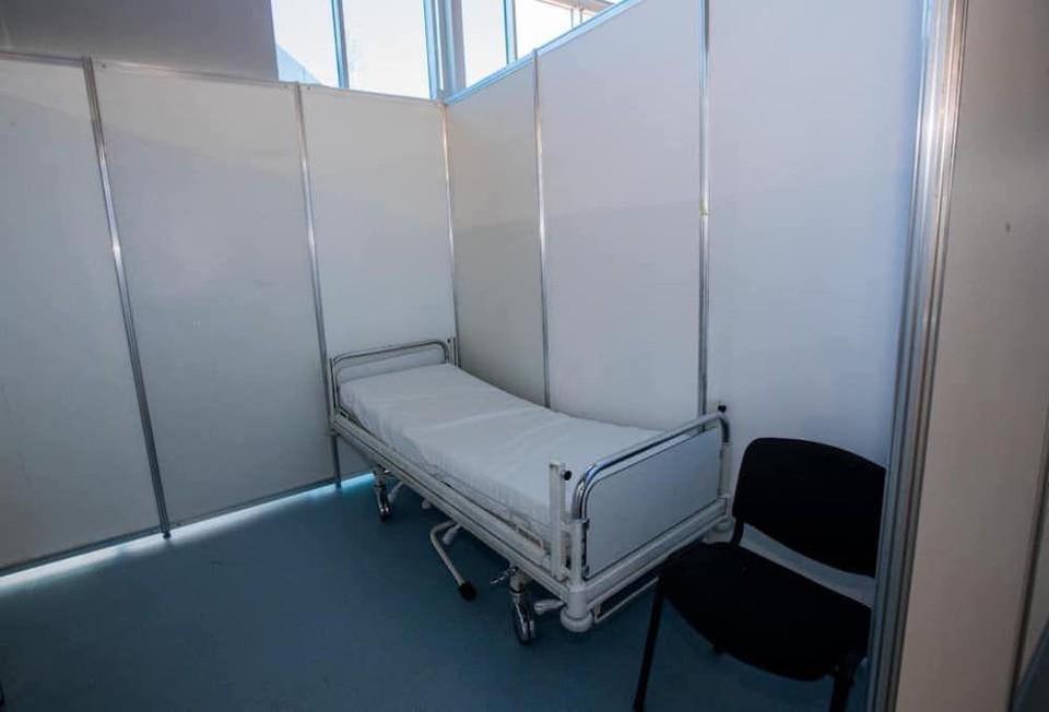 Виктор Гайчук заявил, что кровати уже были доставлены в Центр COVID-19 на Moldexpo. Фото: соцсети