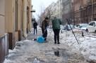 Последние новости на 26 февраля 2021 в Петербурге: Две недели на вывоз снега, помощь в расселении коммуналок, динозавры из снега и долгий прогноз на весну