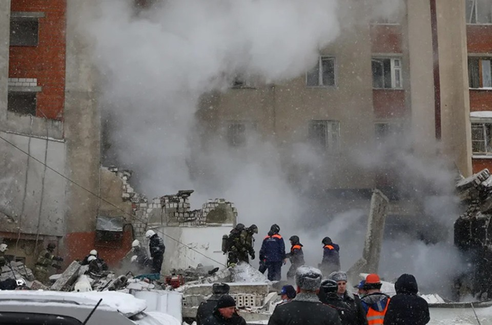 Предварительной причиной взрыва в Нижнем Новгороде считают утечку газа из газораспределительной системы