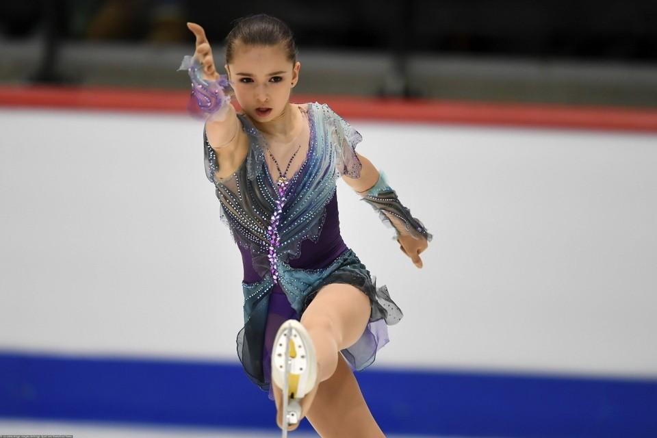 Камиле Валиевой ожидаемо не было равных в финале Кубка России по фигурному катанию