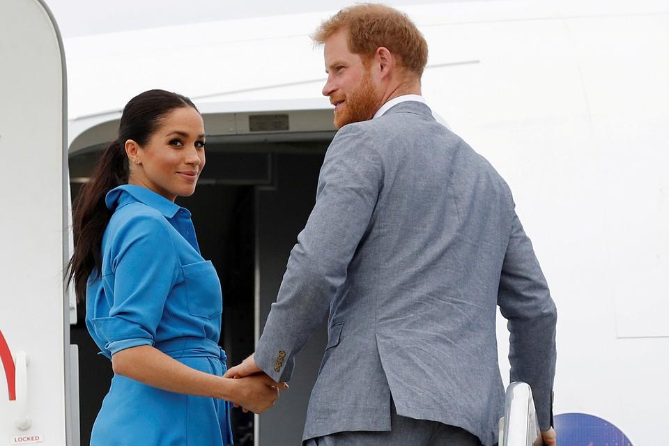 Принц Гарри в интервью Опре Уинфри сравнил свою супругу с принцессой Дианой