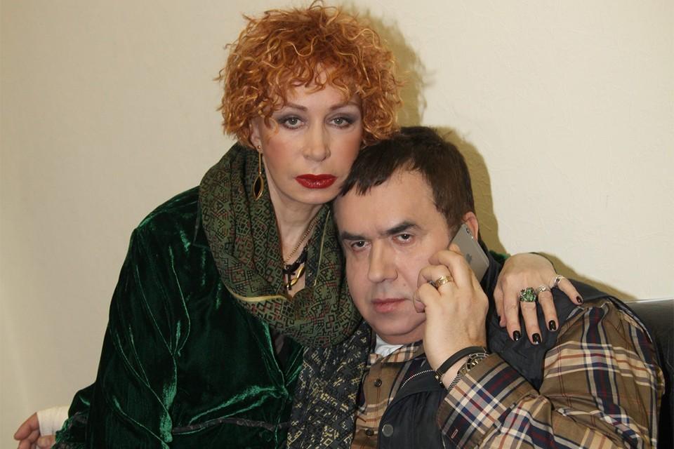 Актеры Татьяна Васильева и Станислав Садальский.